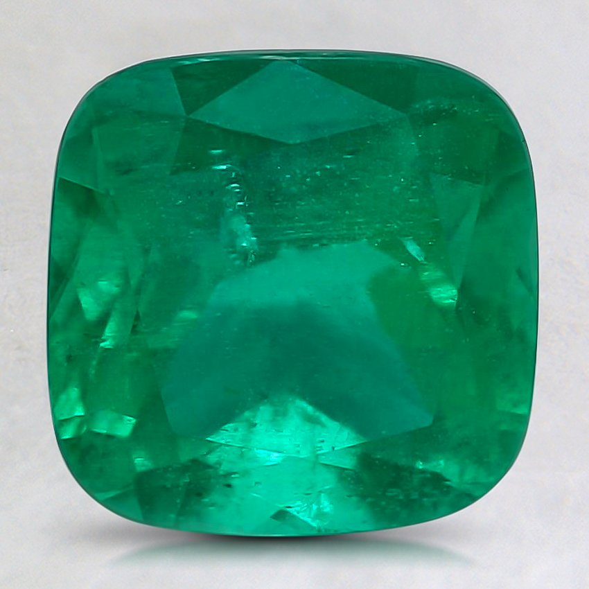 8.6mm Super Premium Cushion Emerald