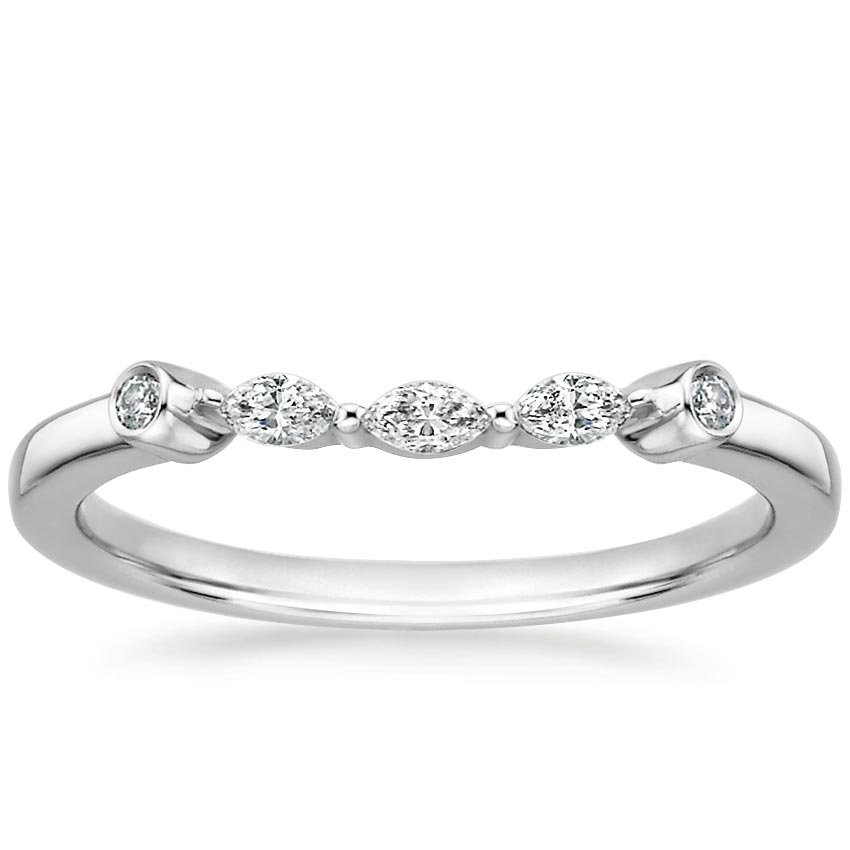 band to products rings custom made designed order curved evary stacking diamond wedding