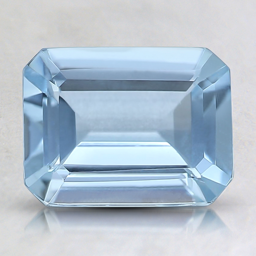 8x6mm Fine Emerald Aquamarine
