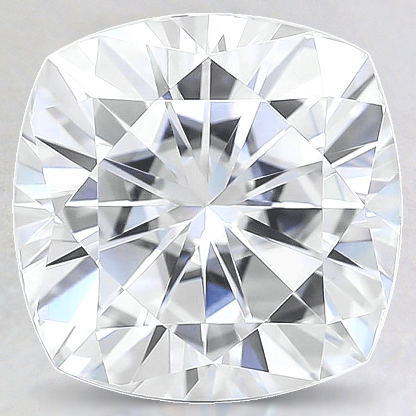 10mm Super Premium Cushion Moissanite