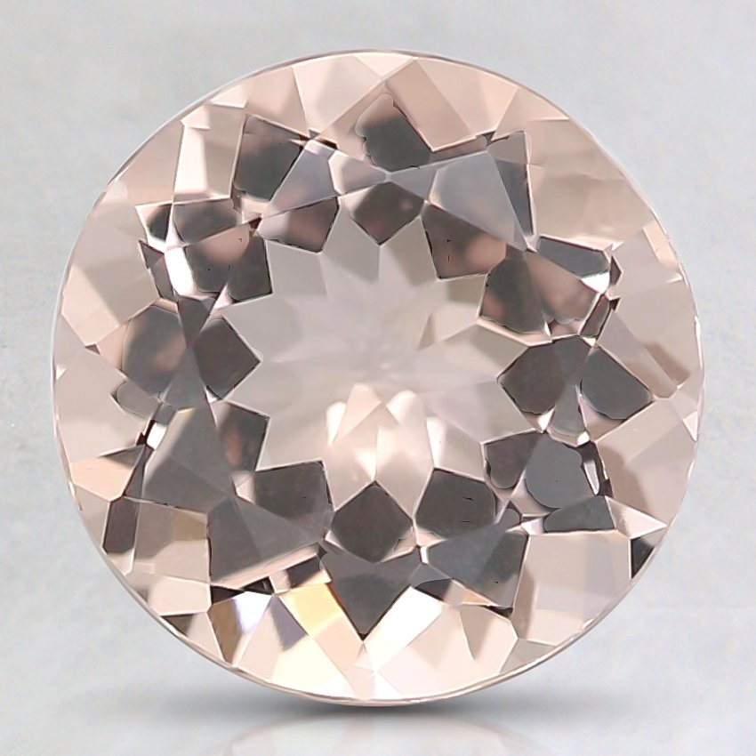 7mm Peach Round Morganite