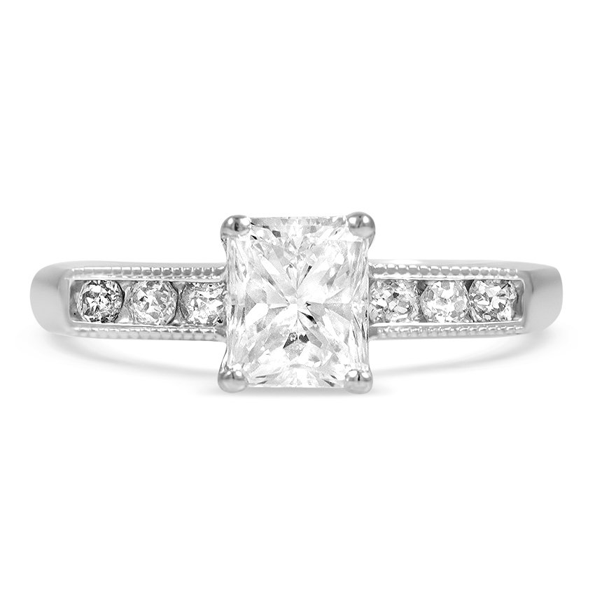 Retro Reproduction Diamond Vintage Ring