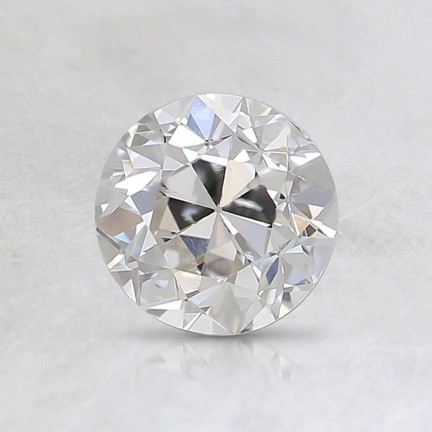 0.71 Ct., I Color, SI1, Old European Cut Diamond