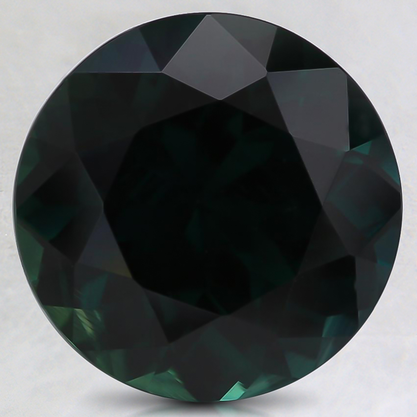 10.6mm Teal Round Sapphire
