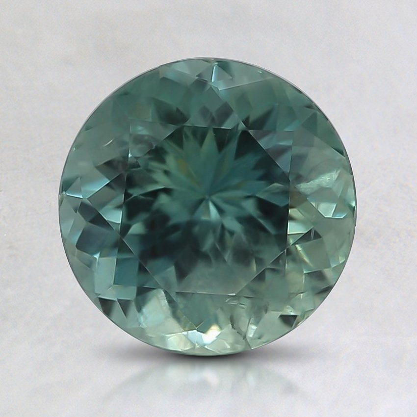 7.2mm Montana Teal Round Sapphire