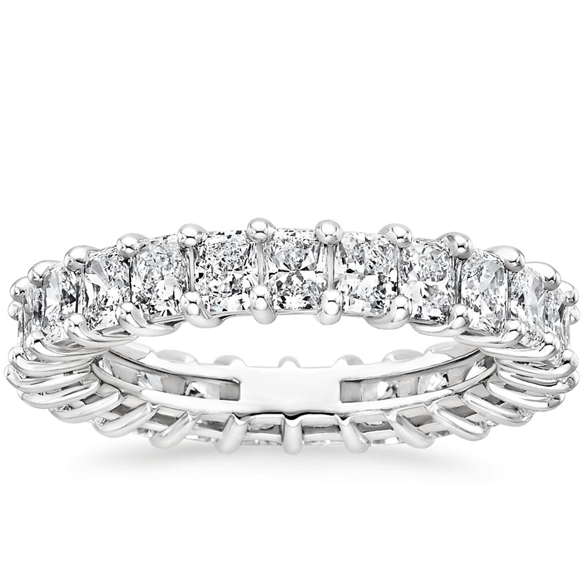 Radiant Eternity Diamond Ring (3 ct. tw.)
