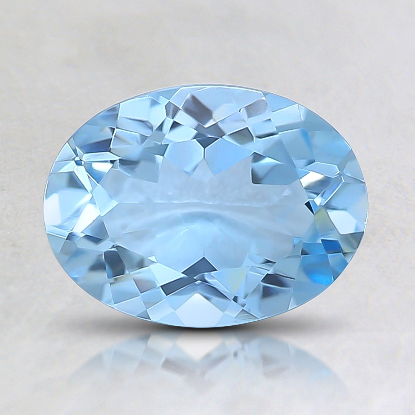 8x6mm Premium Oval Aquamarine