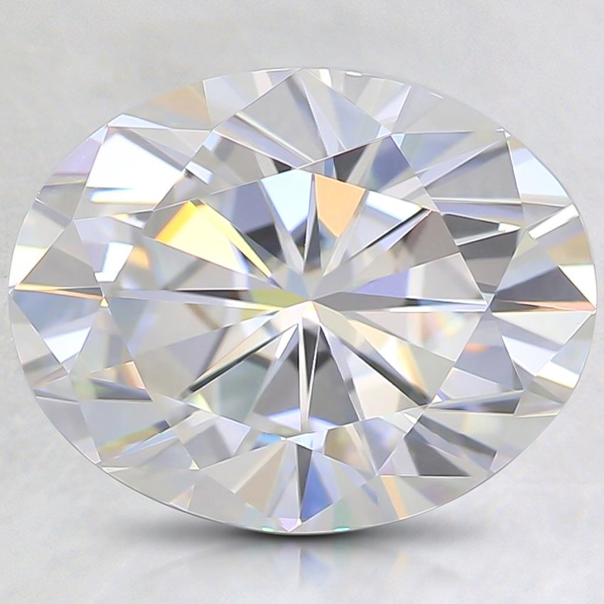10.2x8.1mm Super Premium Oval Moissanite