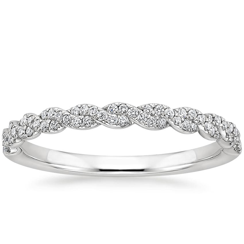 Delicate Twisted Vine Wedding Ring