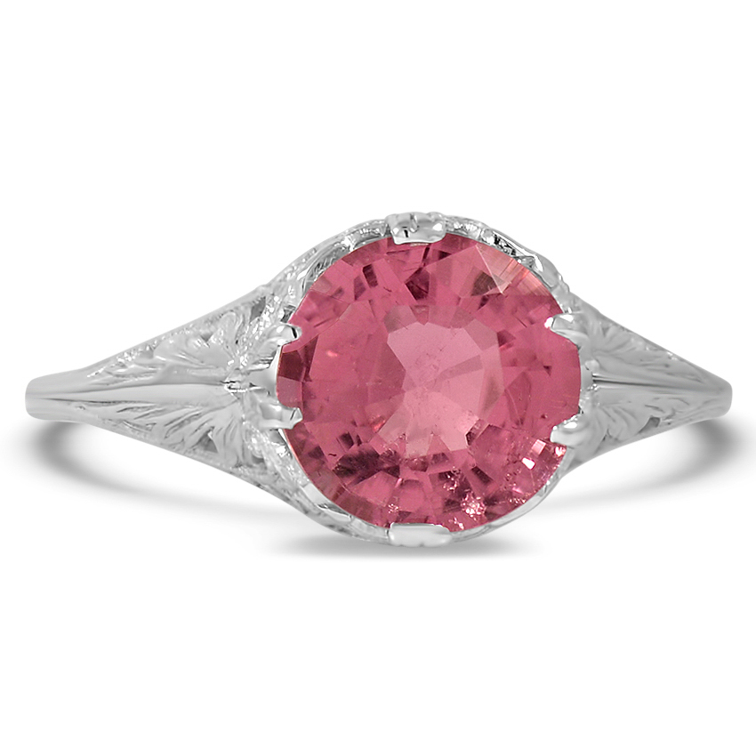 Art Deco Tourmaline Vintage Ring