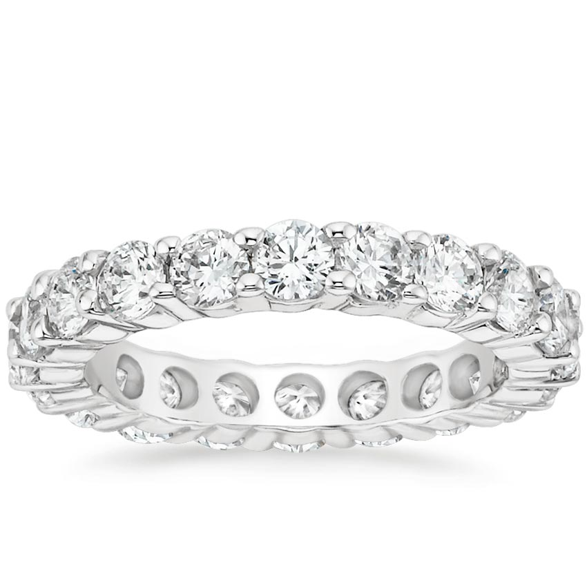 Lab Diamond Eternity Ring (3 ct. tw.) in 18K White Gold