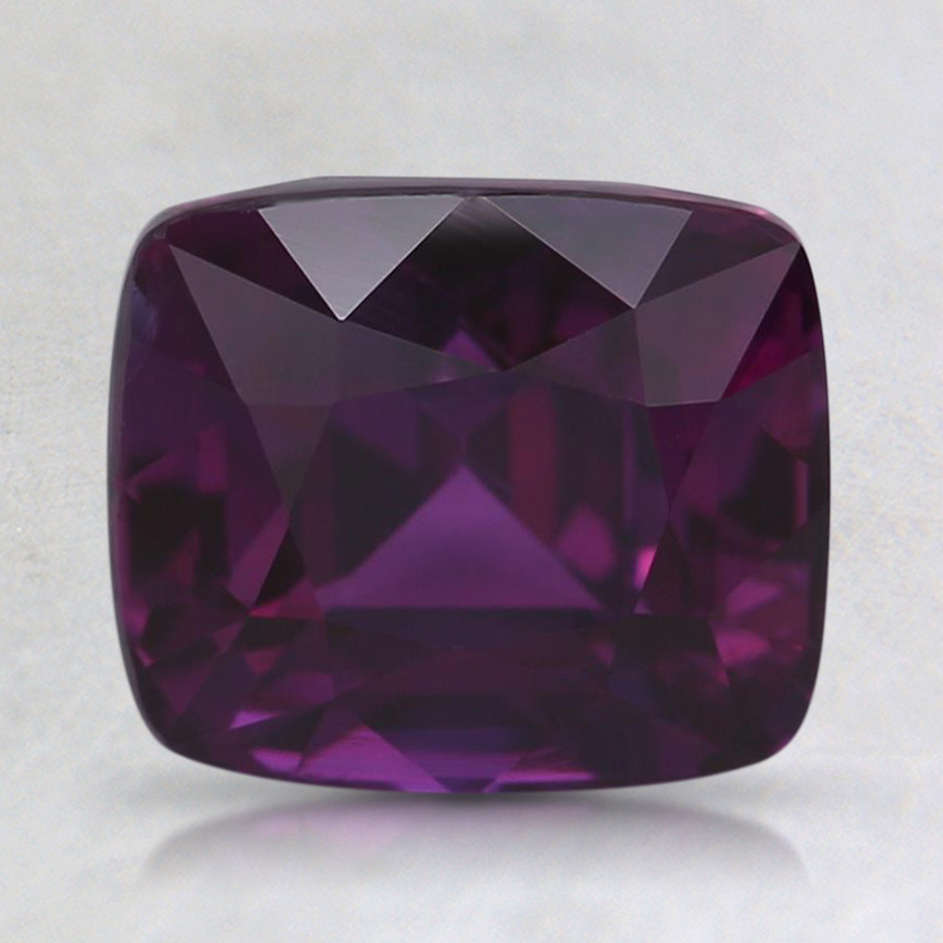 7.8x6.7mm Purple Cushion Sapphire