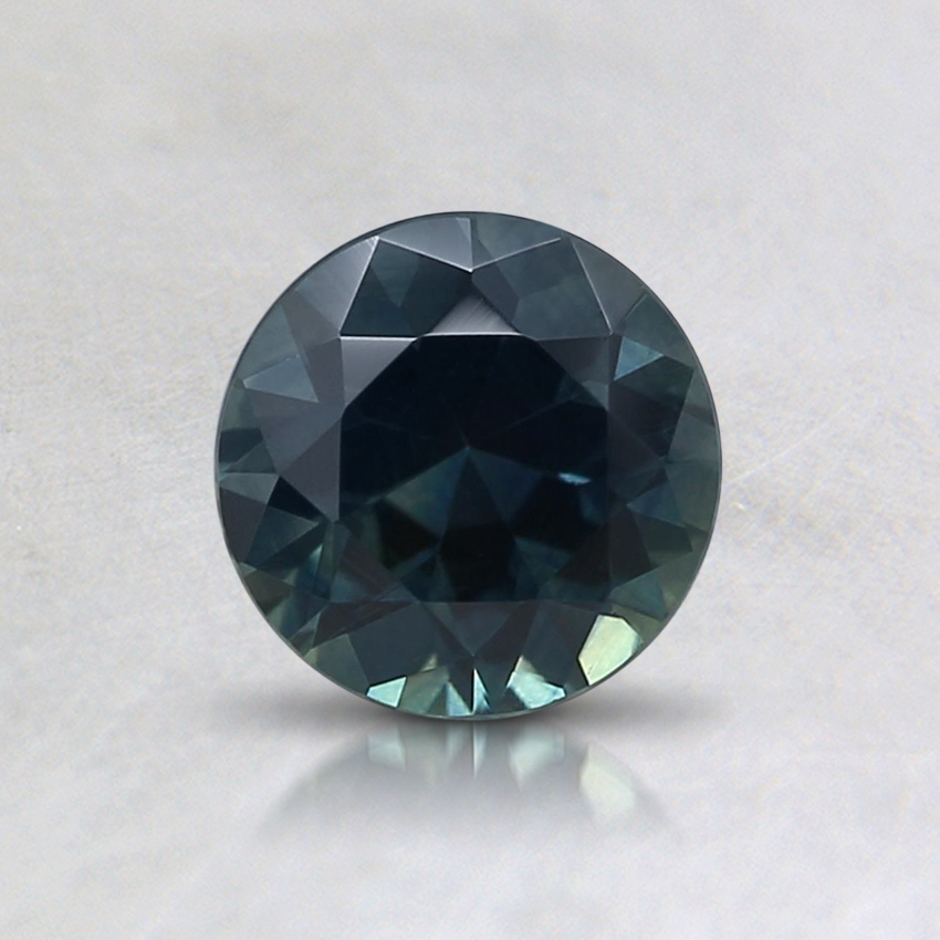 5.5mm Teal Round Montana Sapphire