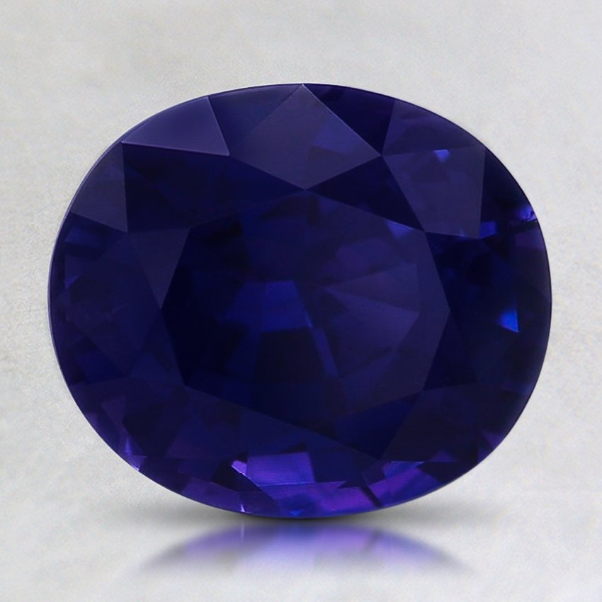 8.5x7.3mm Color Change Oval Sapphire