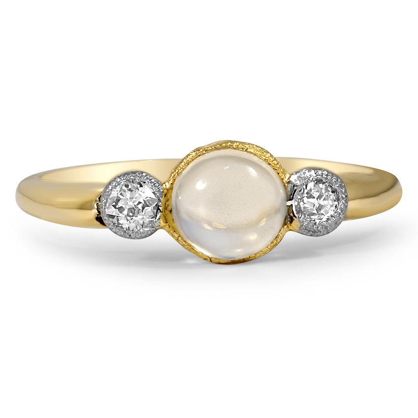 Art Deco Moonstone Vintage Ring