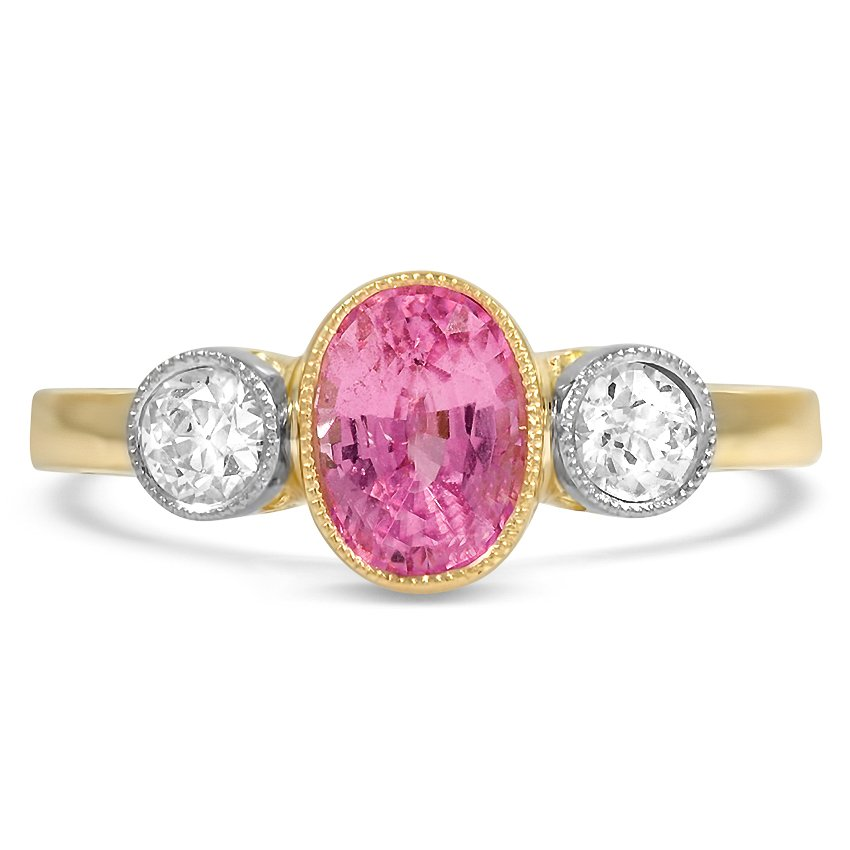 The Margeaux Ring, top view