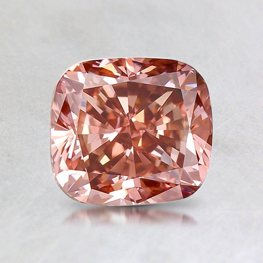 1.32 ct. Lab Created Fancy Pink Cushion Diamond