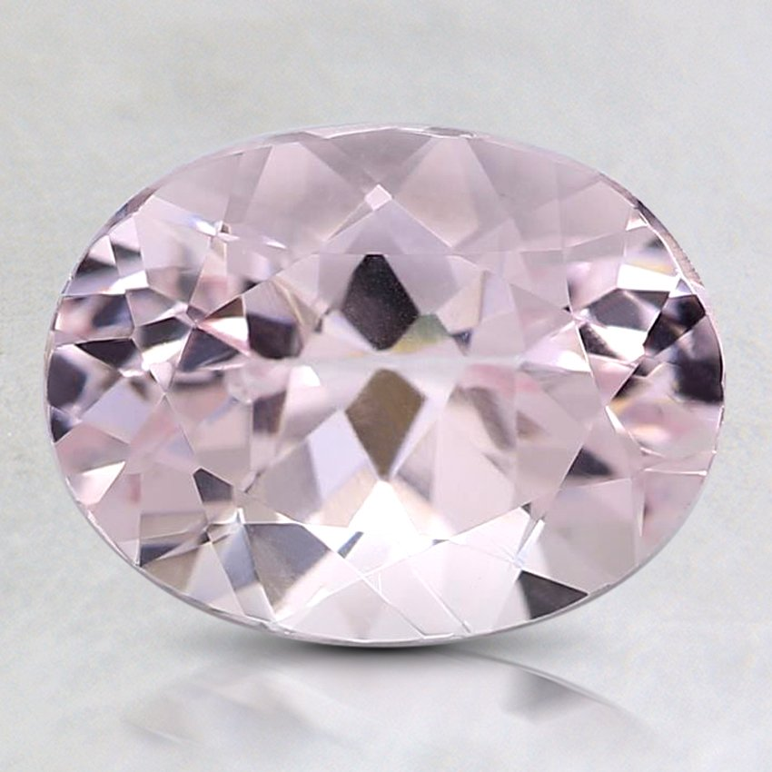 9x7mm Premium Pink Oval Morganite