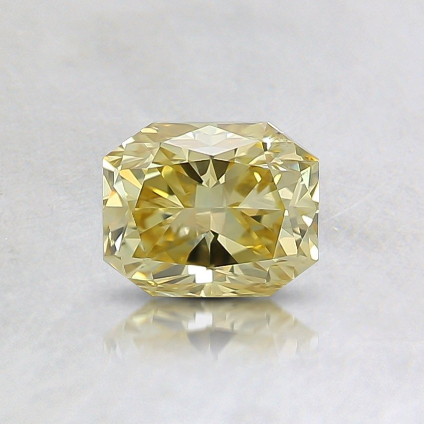 0.59 Ct. Fancy Intense Yellow Radiant Diamond
