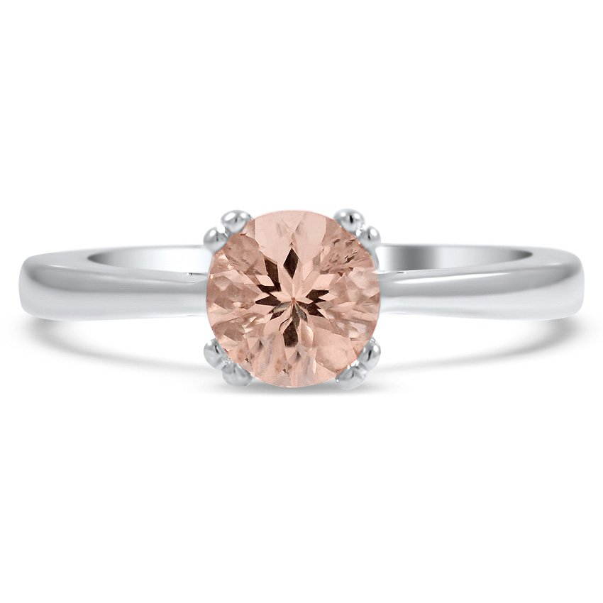 Modern Morganite Vintage Ring