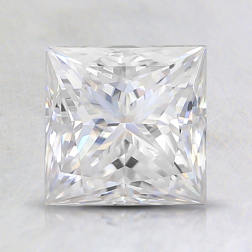 6.5mm Princess Moissanite