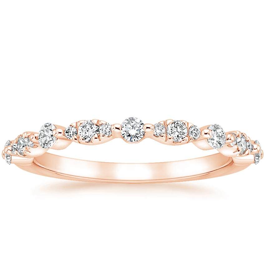 Rose Gold Odette Diamond Ring (1/4 ct. tw.)