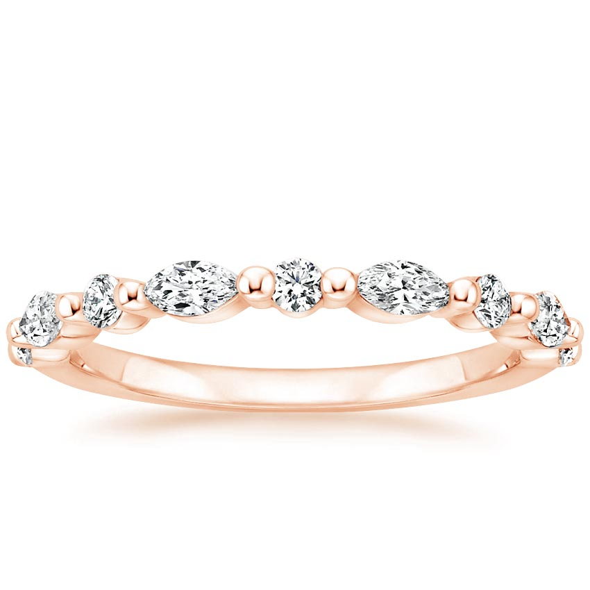 Rose Gold Versailles Diamond Ring (3/8 ct. tw.)