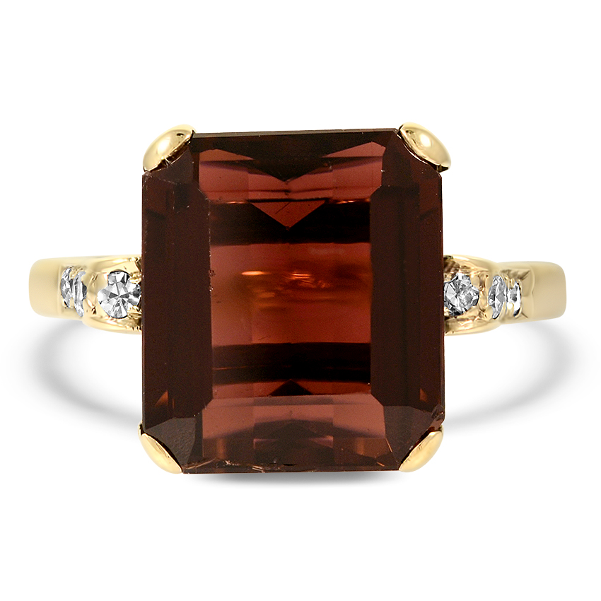 Retro Tourmaline Cocktail Ring