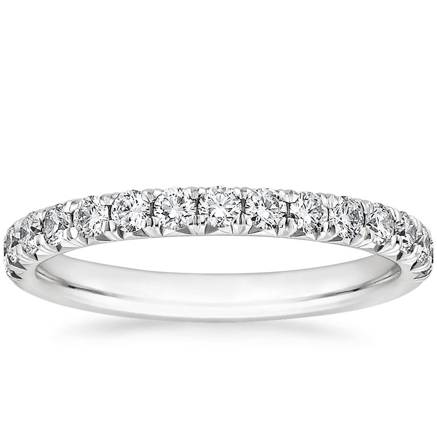 French Pavé Wedding Ring
