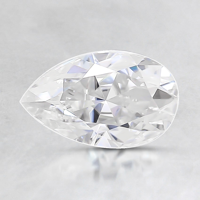 8x5mm Super Premium Pear Moissanite