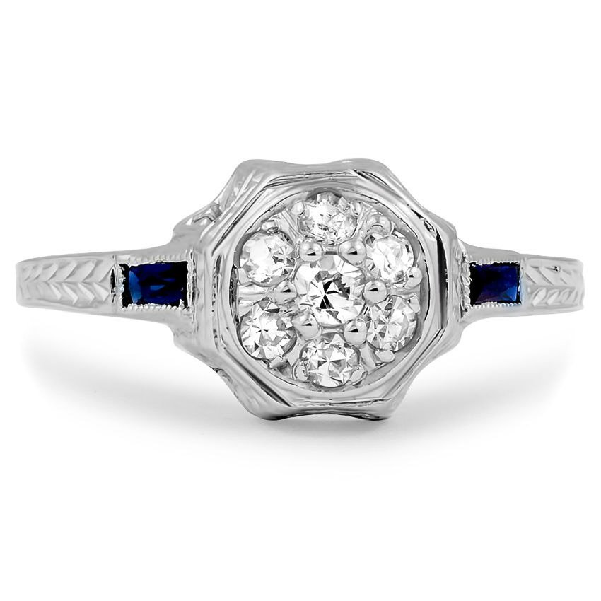 The Amarie Ring, top view