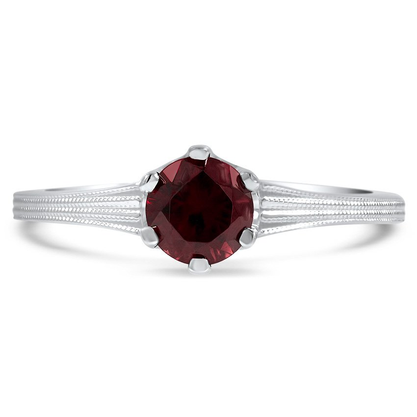 Modern Reproduction Zircon Vintage Ring