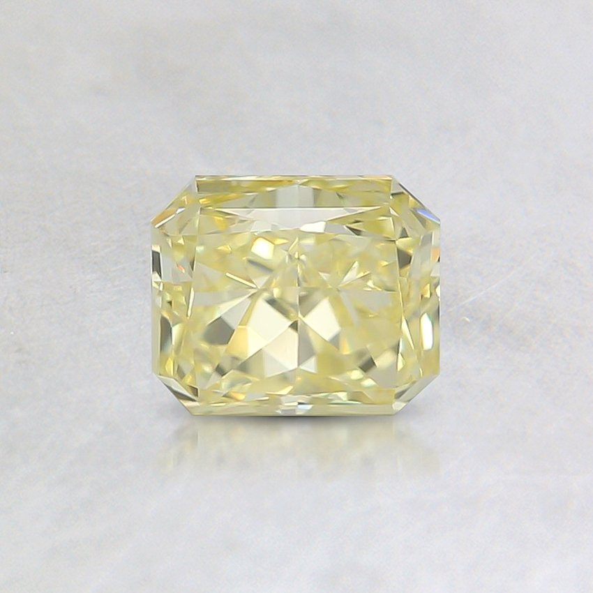 0.71 Ct. Fancy Yellow Radiant Diamond