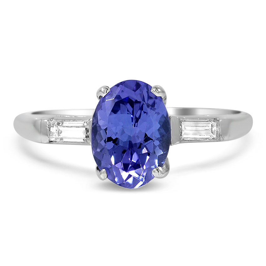 Retro Tanzanite Vintage Ring