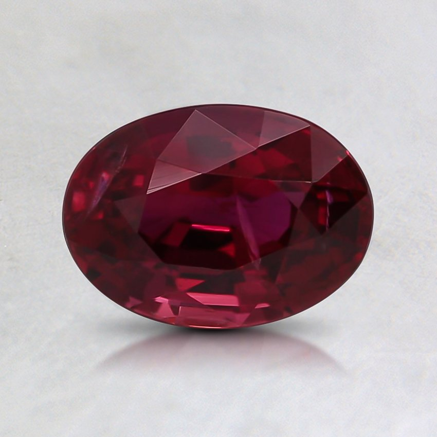 7.2x5.2mm Unheated Oval Ruby