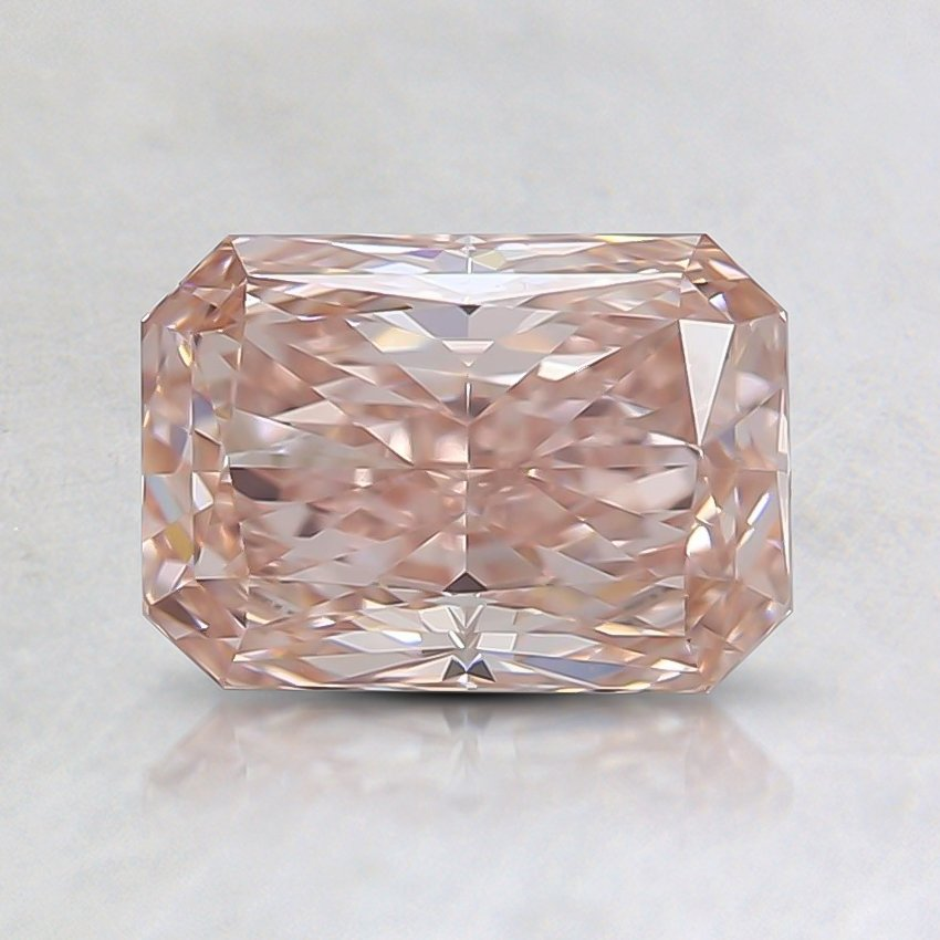 1.01 Ct. Fancy Pink Radiant Lab Created Diamond