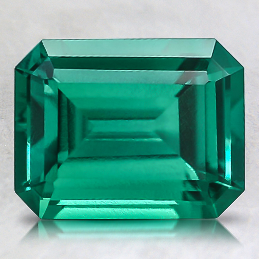 9x7mm Lab Created Emerald