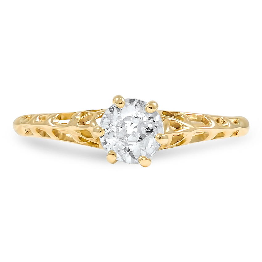 The Marvella Ring, top view