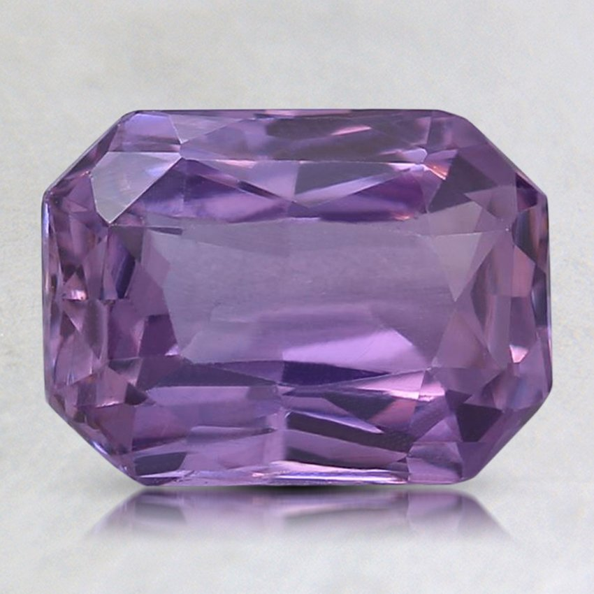 8.8x6.5mm Purple Radiant Sapphire, top view