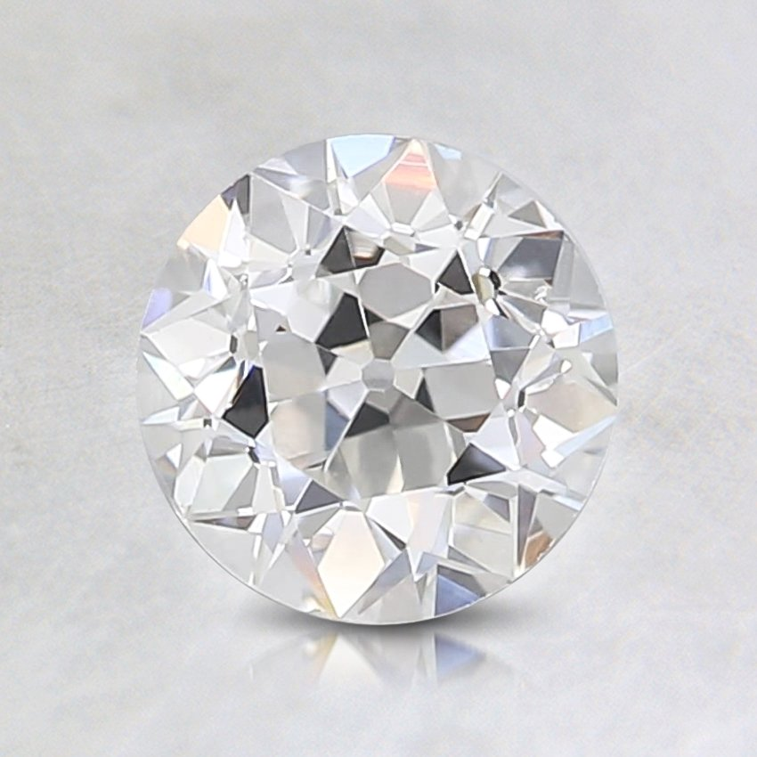 0.45 Carat, G Color, VS1 Clarity, Round Old European Cut Diamond