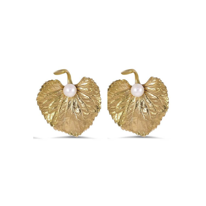 The Stellina Earrings, top view