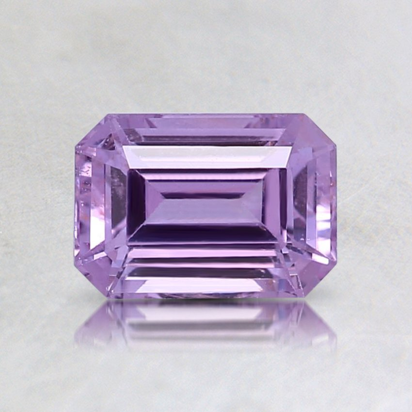 6.5x4.5mm Unheated Purple Emerald Cut Sapphire