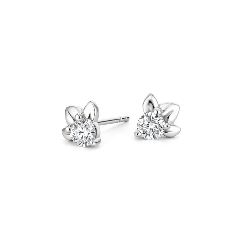 Orchid Diamond Earrings