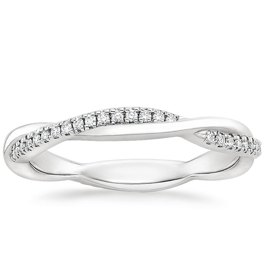 bridal twist zirconia sterling cz byj cubic rings jewelry silver infinity bling band pave twisted ring