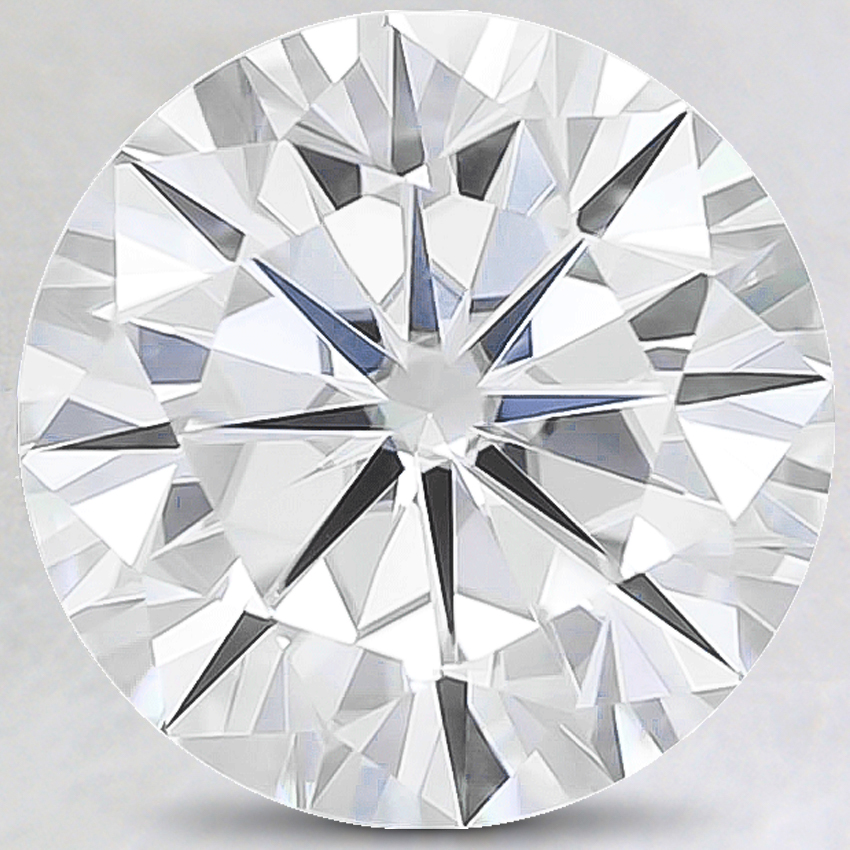 12mm Super Premium Round Moissanite