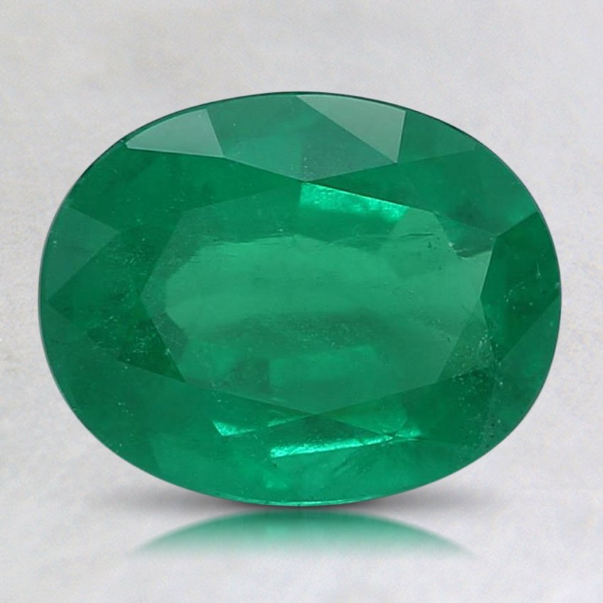 8.9x6.9mm Premium Oval Emerald