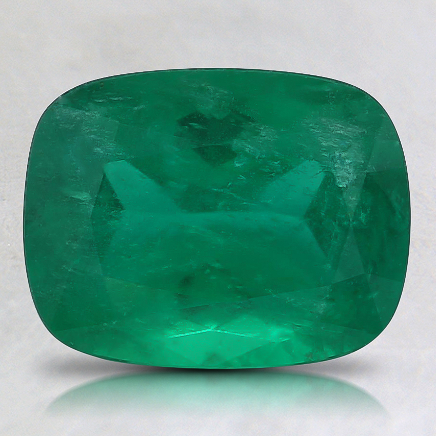9x7mm Premium Cushion Emerald