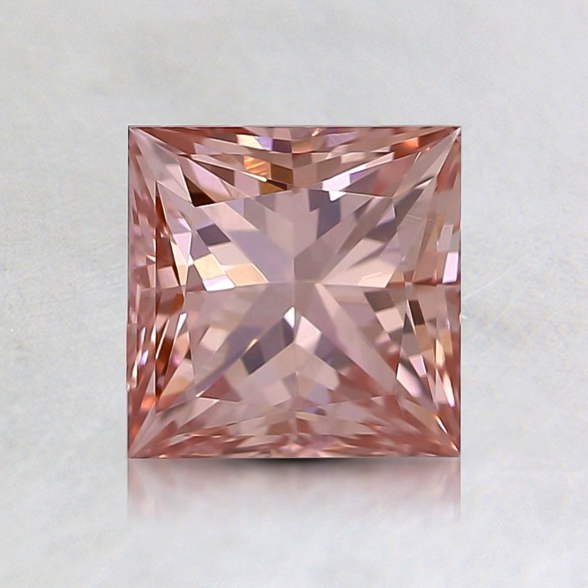 1.15 Ct. Fancy Pink Princess Lab Created Diamond