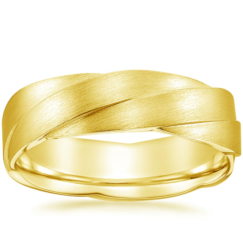 Yellow Gold Carrick Wedding Ring