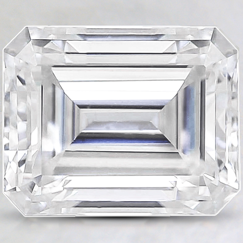 10x8mm Super Premium Emerald Moissanite